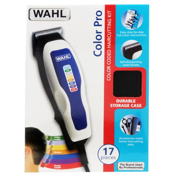 Wahl ColorPro 17-piece Color Coded Haircut Kit