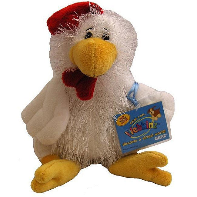 Webkinz Chicken and Cards Set