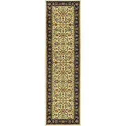 Safavieh Lyndhurst Traditional Oriental Ivory/ Black Runner (2'3 x 14')