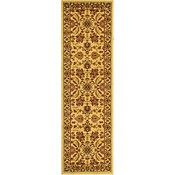 Safavieh Lyndhurst Collection Heritage Ivory/ Ivory Runner (2'3 x 14')