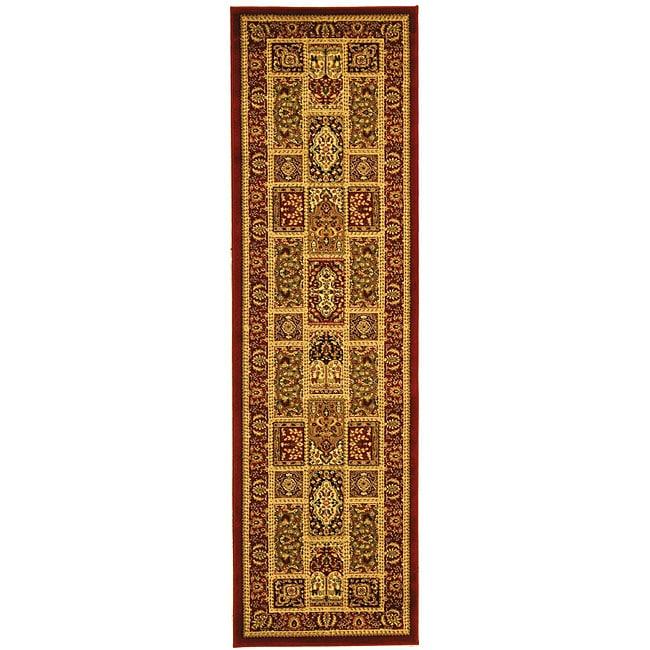 Safavieh Lyndhurst Traditional Oriental Red/ Multi Runner (2'3 x 14')
