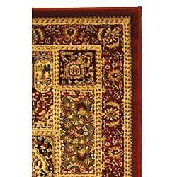 Safavieh Lyndhurst Traditional Oriental Red/ Multi Runner (2'3 x 14') - Thumbnail 1