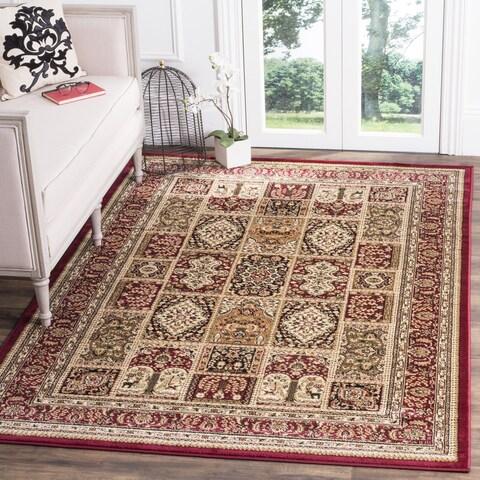 Safavieh Lyndhurst Traditional Oriental Red/ Multi Rug (6' Square) - 6' x 6' Square