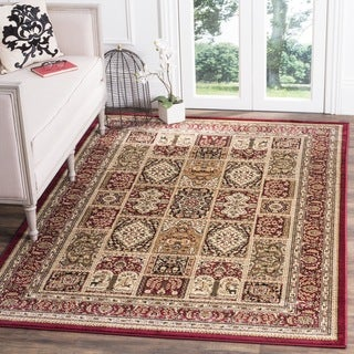 Safavieh Lyndhurst Traditional Oriental Red/ Multi Rug (6' Square)