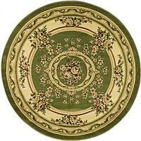 Safavieh Lyndhurst Traditional Oriental Sage/ Ivory Area Rug (8' Round)