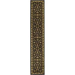 Safavieh Lyndhurst Traditional Oriental Black/ Ivory Runner (2'3 x 14')
