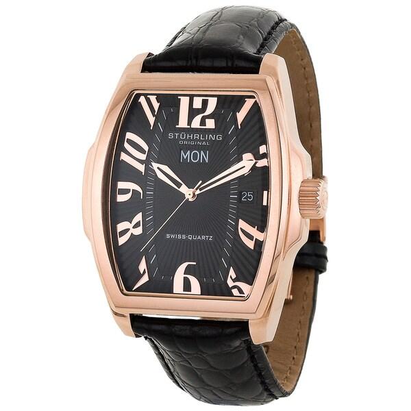 Stuhrling Original Men's Waldorf Swiss Quartz Watch