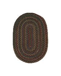 Jefferson Navy Indoor/ Outdoor Braided Rug (7'4 x 9'4) - Thumbnail 1