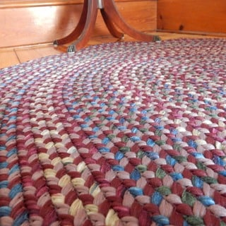 Monticello Indoor/ Outdoor Braided Rug (3'6 x 5'6)