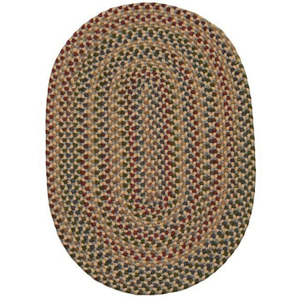 Monticello Indoor/Outdoor Traditional Braided Rug (7'4 x 9'4)