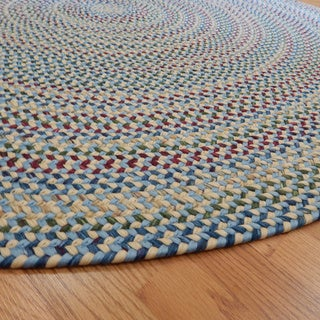 Monticello Transitional Indoor/Outdoor Braided Rug (6' Round)