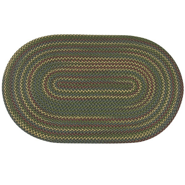 Monticello Indoor / Outdoor Braided Area Rug (3'6 x 5'6)