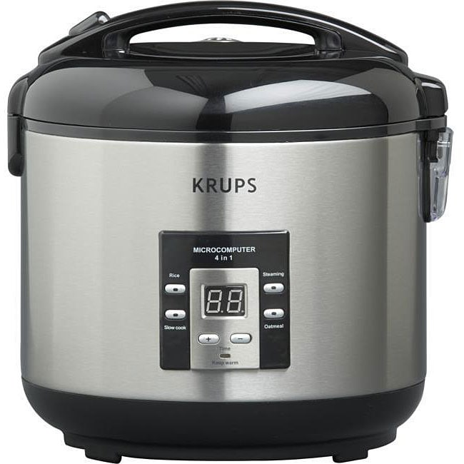 Krups RK7011 4-in-1 10-cup Rice Cooker and Steamer