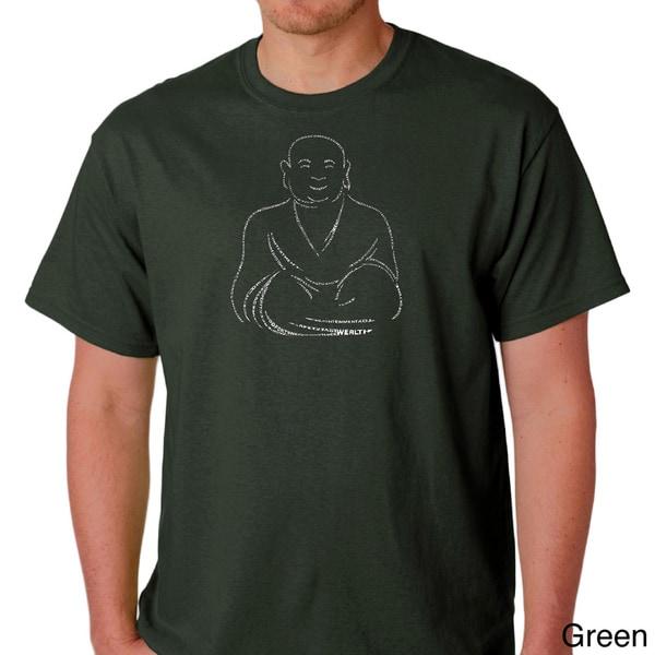 Los Angeles Pop Art Men's Positive Wishes T-shirt
