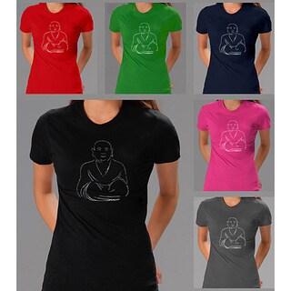 Los Angeles Pop Art Women's 'Positive Wishes' T-shirt