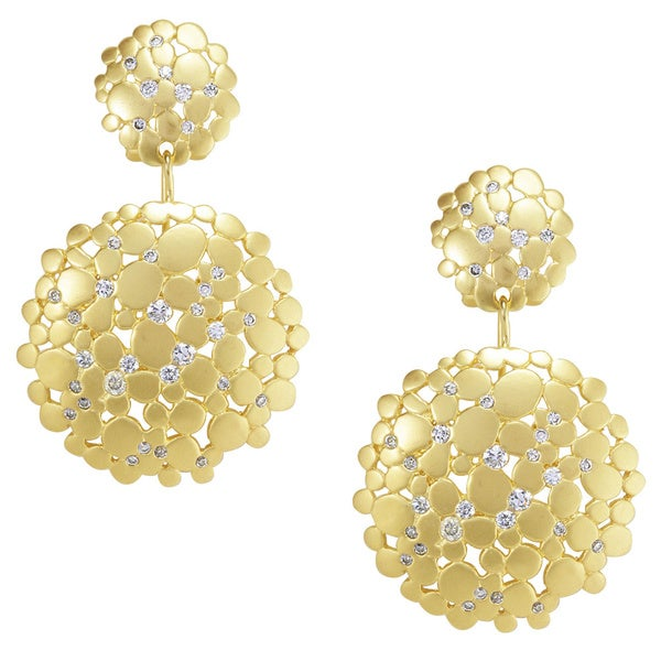 Nexte 'Cynthian Celestial' Cubic Zirconia Earrings