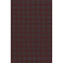 Hand-woven Camrose Wool Geometric Area Rug (8' x 11') - 8' x 11' - Thumbnail 0
