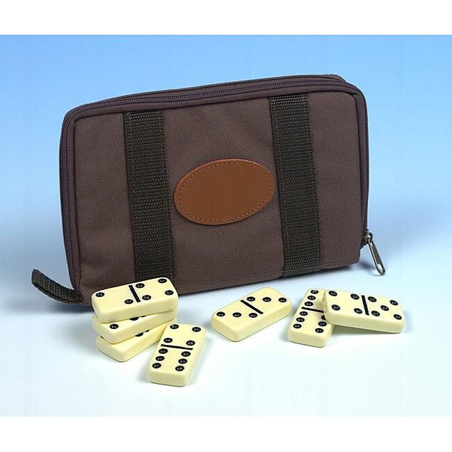 Travel Double Six Dominoes
