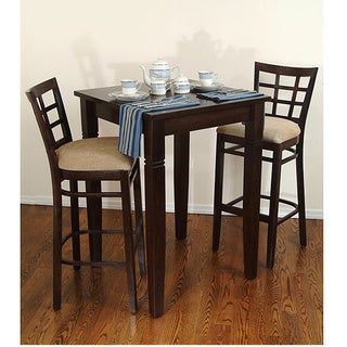 Lattice Bar 3-piece Set : bar stool kitchen table - islam-shia.org