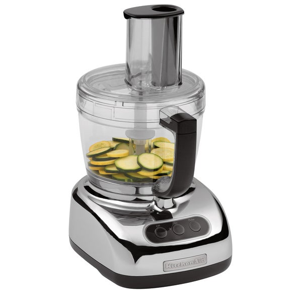 KitchenAid KFP750CR 12-cup Chrome Food Processor