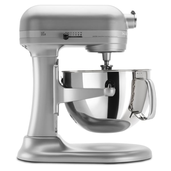 KitchenAid KP26M1XNP Nickel Pearl Pro 600 6-quart Stand Mixer with $50 Rebate