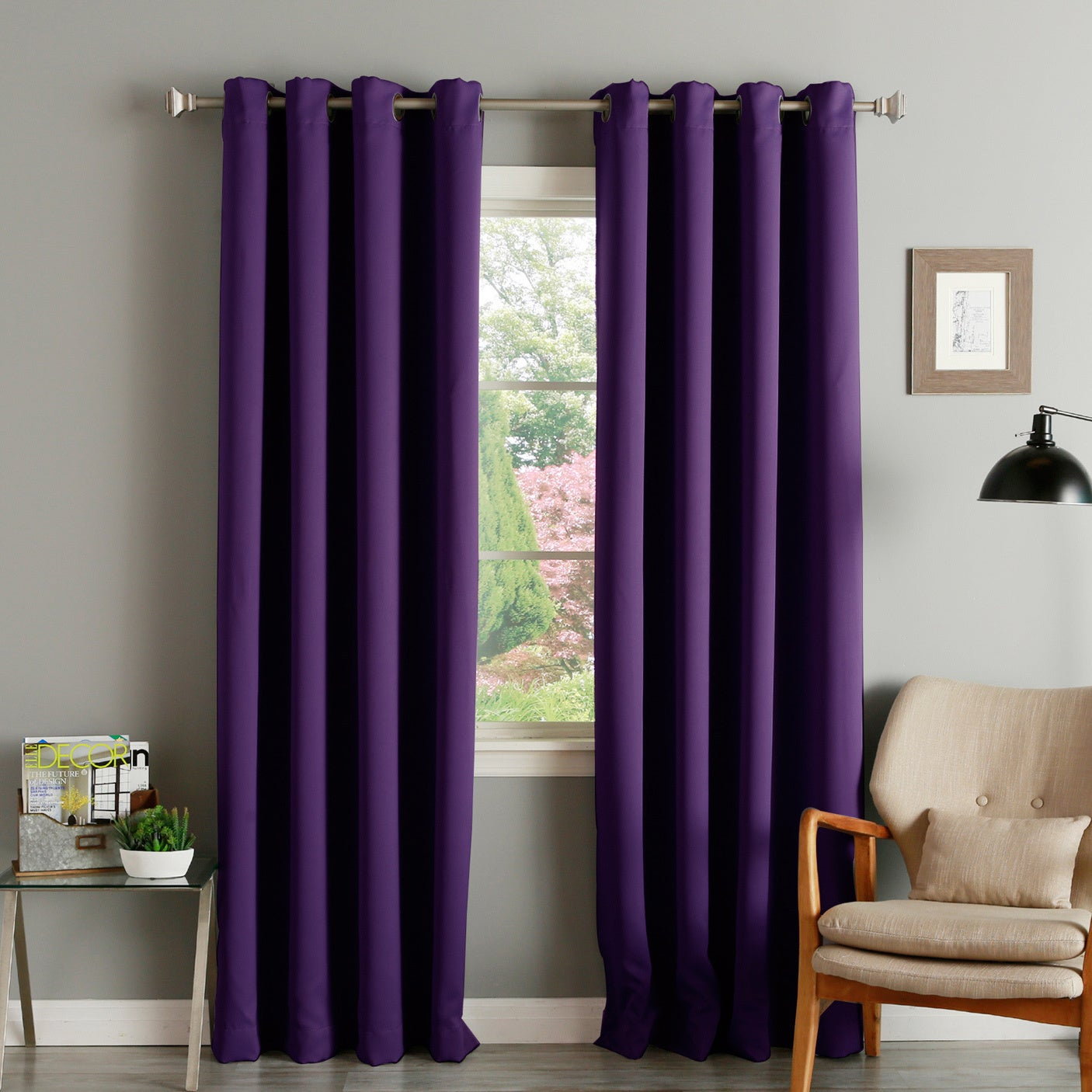 Blackout Curtain Panels With Grommets Curtain
