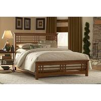 Gracewood Hollow George Oak Finish Bed