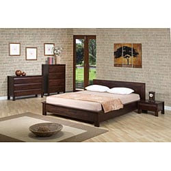 Porch & Den Rosewood Coleto 1-drawer Nightstand - Thumbnail 2