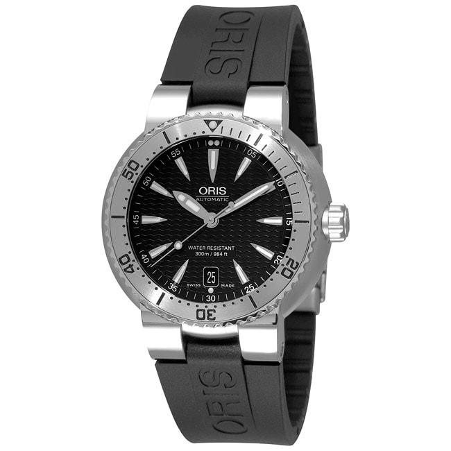 Oris TT1 Diver Men's Automatic Rubber Strap Watch