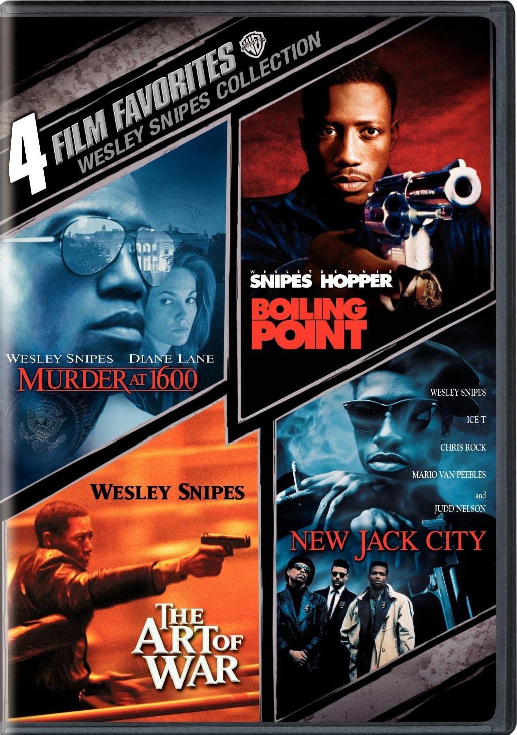 4 Film Favorites: Wesley Snipes (DVD)