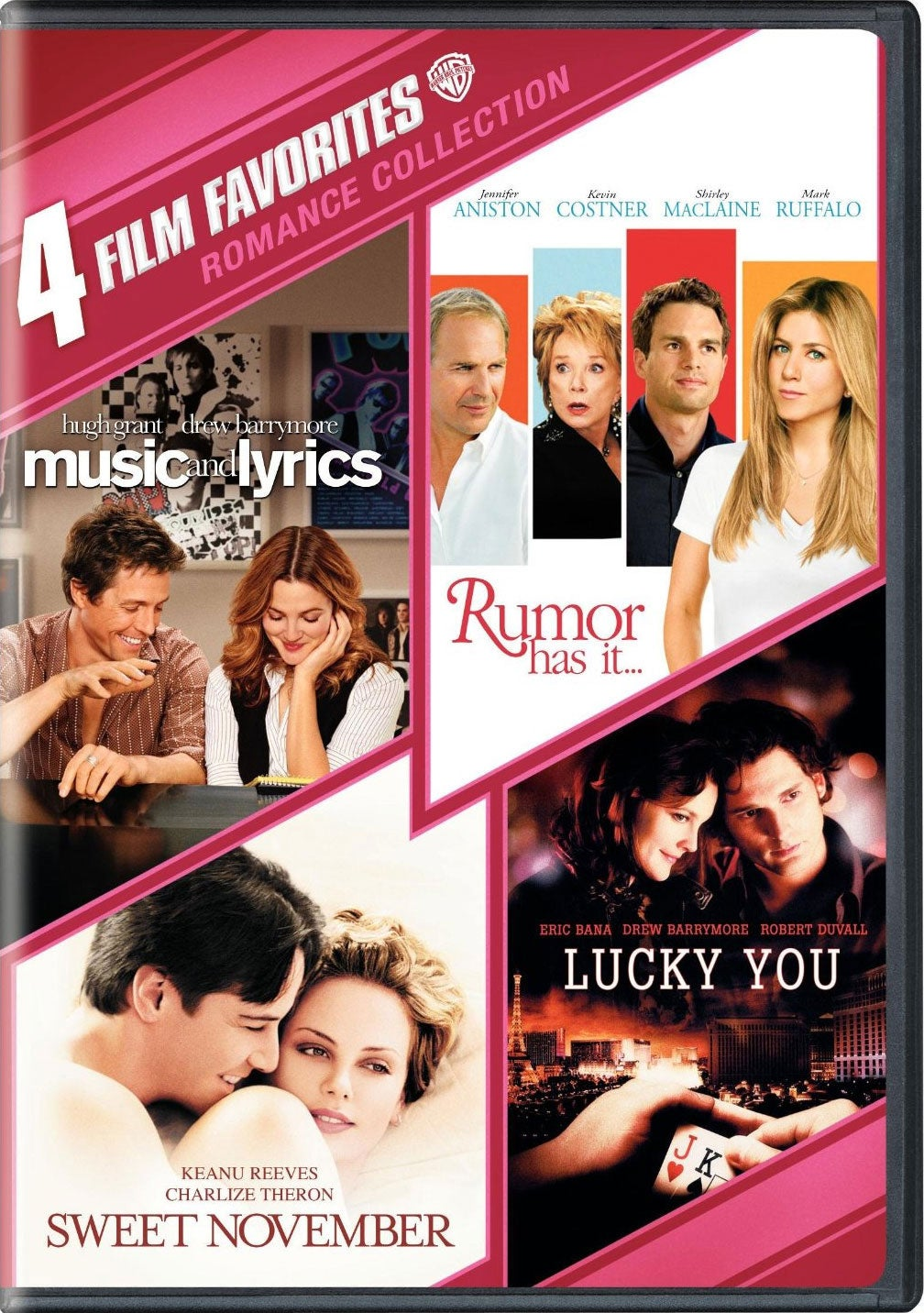 4 Film Favorites: Romance Collection (DVD)