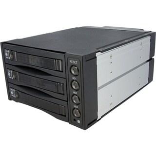 StarTech.com Hot Swap SATA/SAS Backplane RAID Bays - 3 Hard Drive Mob