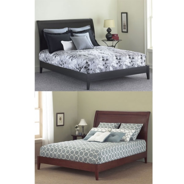 Java Queensize Platform Bed Free Shipping Today Overstockcom