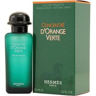 Hermes Concentre Dorange Verte Men's 1.6-ounce Eau de Toilette Spray