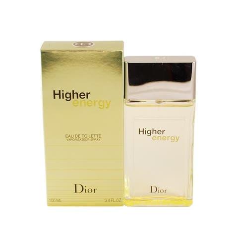 Dior Higher Energy Men's 3.4-ounce Eau de Toilette Spray