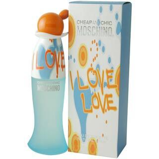 Moschino I Love Love Women's 1-ounce Eau de Toilette Spray|https://ak1.ostkcdn.com/images/products/4362245/P12331898.jpg?impolicy=medium