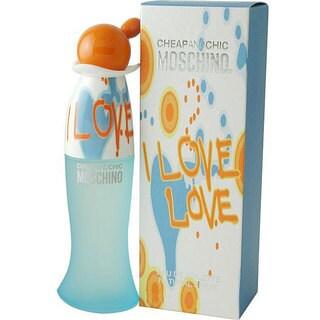 Moschino I Love Love Women's 1.7-ounce Eau de Toilette Spray