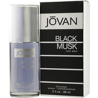 Jovan Black Musk Men's 3-ounce Cologne Spray