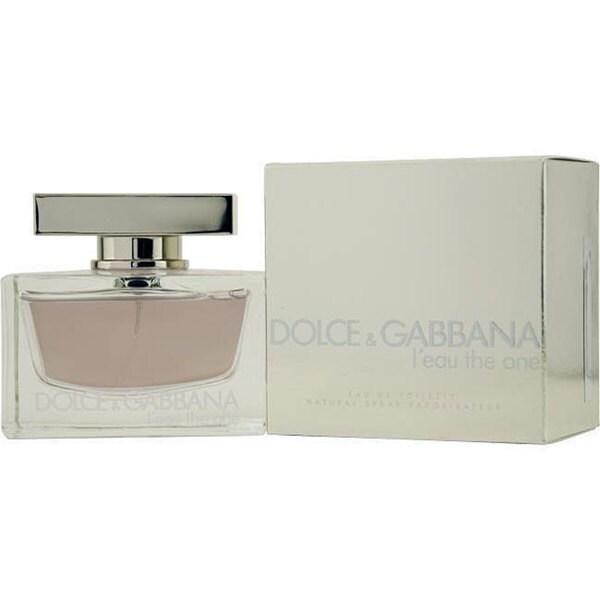 Dolce & Gabbana Leau The One Women's 1.6-ounce Eau de Toilette Spray