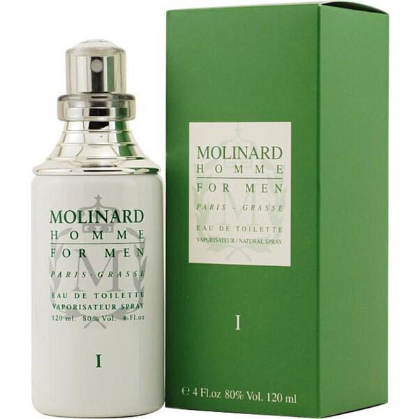 Molinard Homme Men's 4-ounce Eau de Toilette Spray