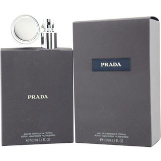 Prada Men's 3.4-ounce Refillable Eau de Toilette Spray
