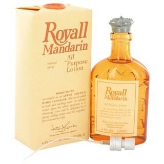 Royall Mandarin Orange Men's 4-ounce All-purpose Lotion