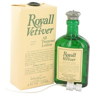 Royall Vetiver Men's 4-ounce Aftershave Lotion Cologne Spray