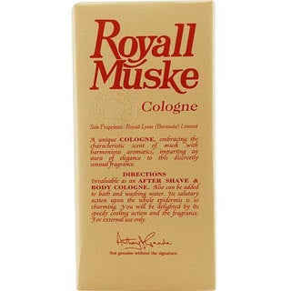 Royall Muske Men's 4-ounce Aftershave Cologne Spray