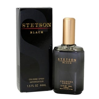 Stetson Black Men's 1.5-ounce Cologne Spray