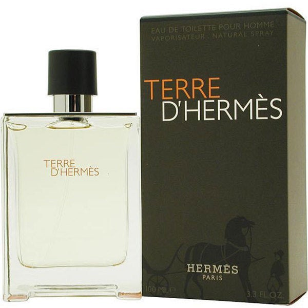 5e999774fdc9 Shop Hermes Terre d Hermes Men s 3.3-ounce Eau de Toilette Spray ...