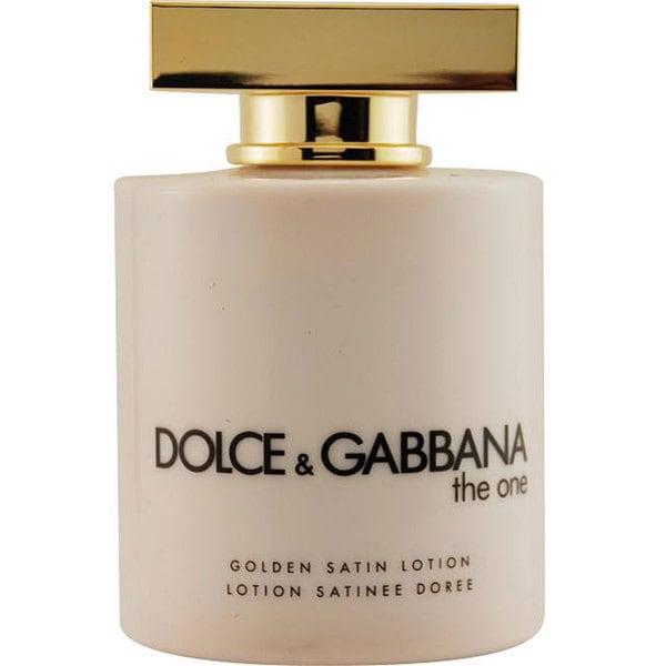 Dolce & Gabbana Women's 6.7-ounce 'The One' Golden Satin Lotion