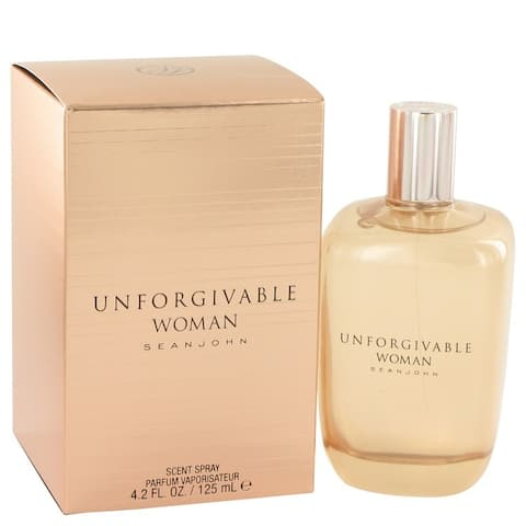Sean John Unforgivable Women's 4.2-ounce Parfum Spray