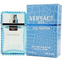 Gianni Versace Man Eau Fraiche Men's 1-ounce Eau de Toilette Spray