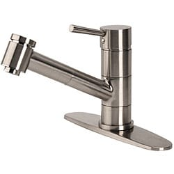Fontaine Brushed Nickel Pullout Kitchen Faucet - Thumbnail 1